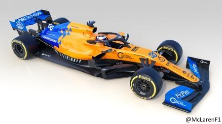 マクラーレン、2019新車MCL34を発表