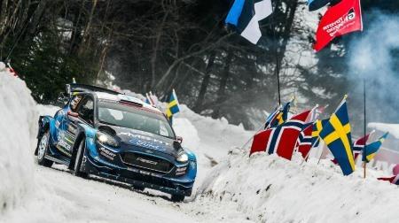 2019WRC第2戦スウェーデンDAY1結果