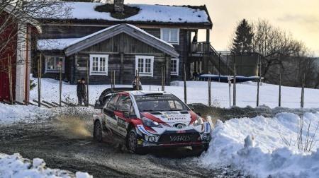 2019WRC第2戦スウェーデンDAY2結果