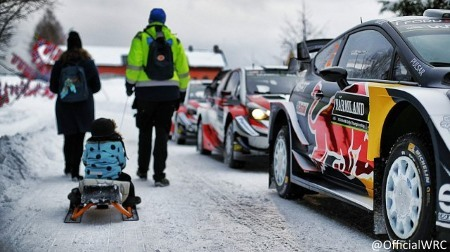 2019WRC第2戦スウェーデン総合結果