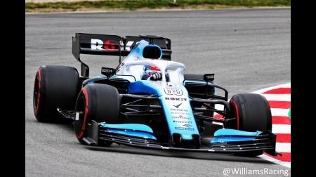 ウィリアムズ、ようやくテストを開始@2019F1プレシーズンテスト