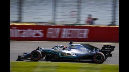 メルセデスが驚速@F1オーストラリアGP初日