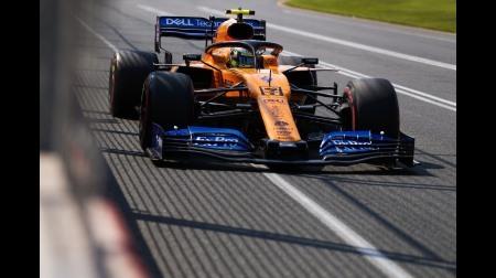 ノリスがデビュー戦で予選Q3進出@F1オーストラリアGP予選