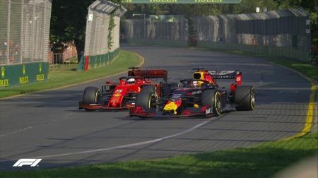 レッドブル・ホンダがフェラーリをオーバーテイク@F1オーストラリアGP決勝