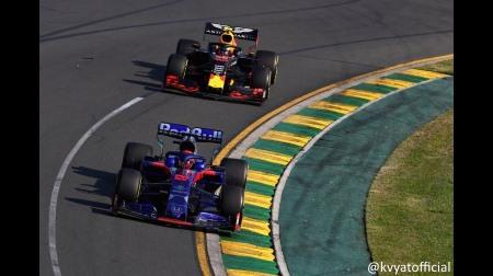 クビアト、評価を上げる@F1オーストラリアGP