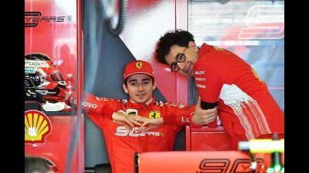 フェラーリ代表ビノット、ルクレールの初戦に満足