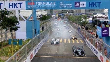 2018-2019 フォーミュラE 第5戦 香港 決勝