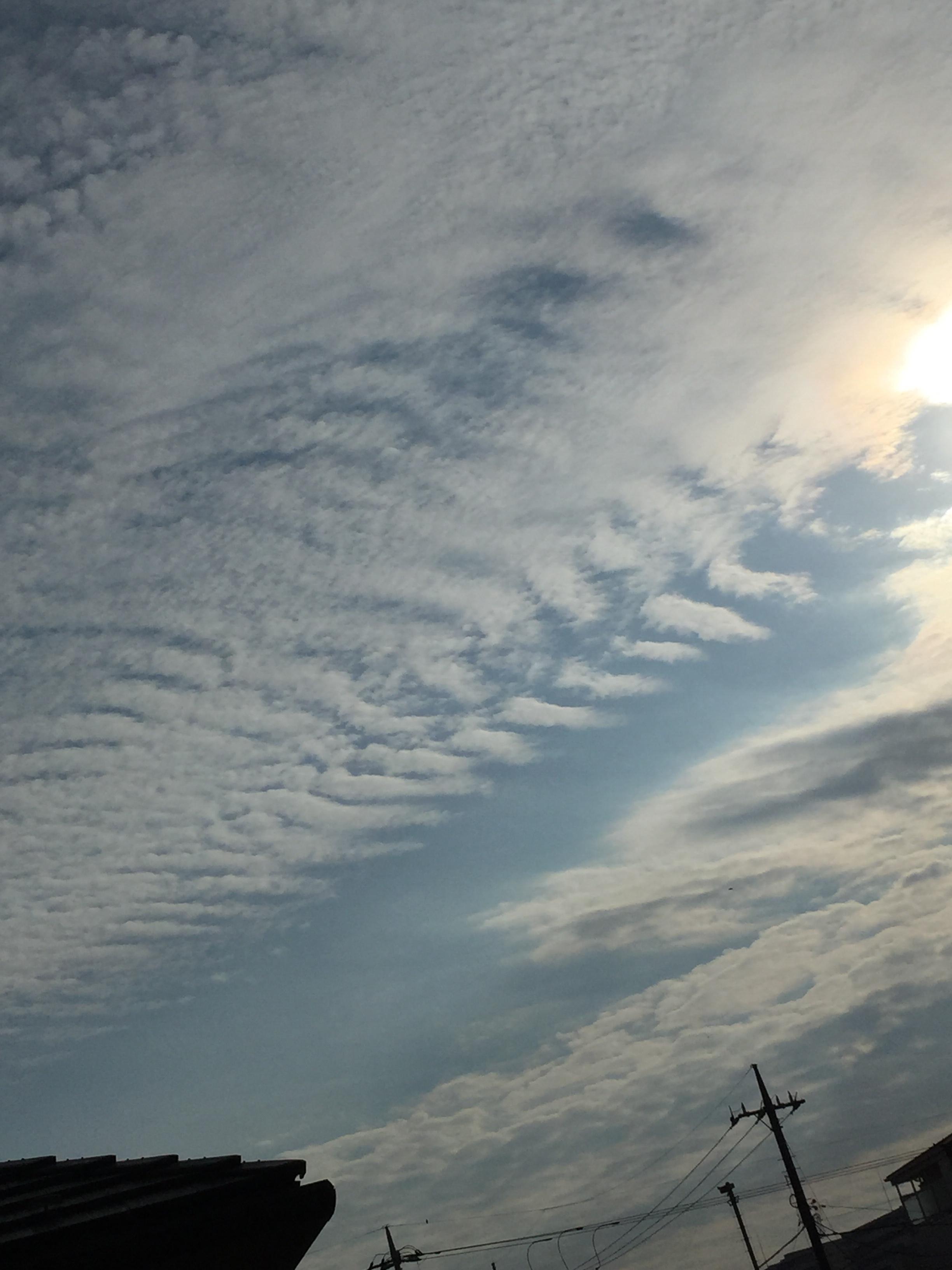 地震雲 今日