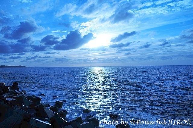 蒼い海 (1)