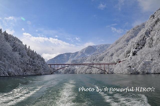 庄川峡湖上遊覧 (2)