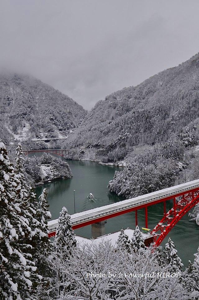 庄川峡冬化粧 (4)