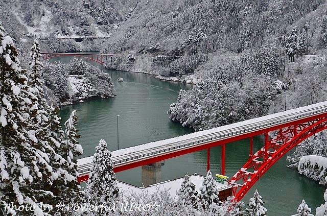 庄川峡冬化粧 (6)