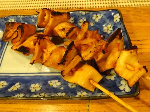 10ハツモト味噌漬串焼き