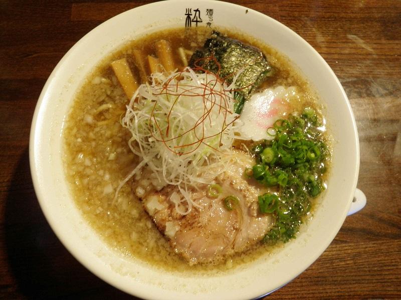 麺's食堂 粋蓮【超煮干しらぁ~麺】 @焼津市