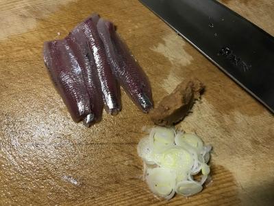 ウルメイワシのナメロウおにぎりの作り方