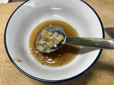 カタクチイワシのかき揚げ丼のタレ