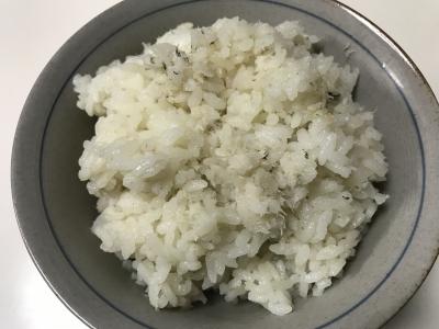 ウミタナゴ飯