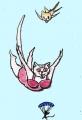 龍猫♡のある猫絵 (4)