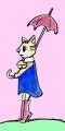 龍猫♡のある猫絵 (1)