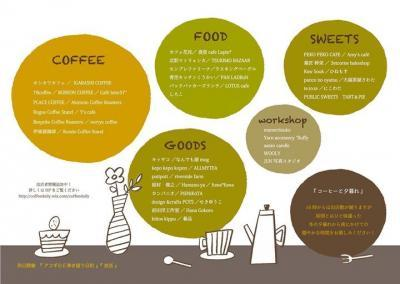 コーヒーと日常 出店者