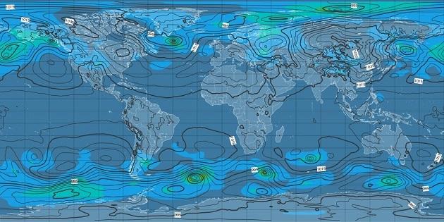20181223世界天気図
