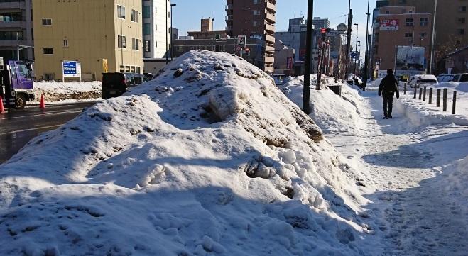 20190221雪化粧した雪山