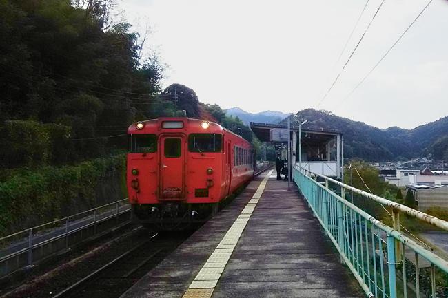 岩徳線 川西駅
