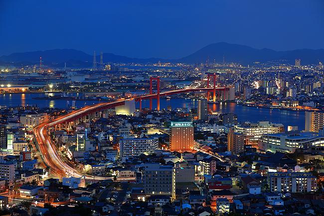 高塔山夜景