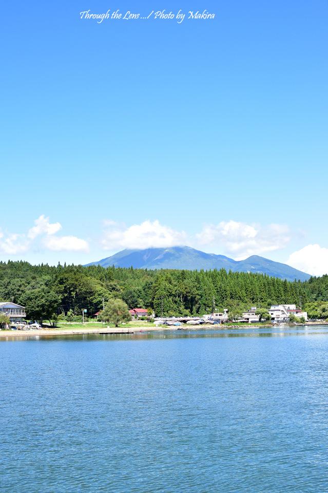 猪苗代湖と会津磐梯山56D1