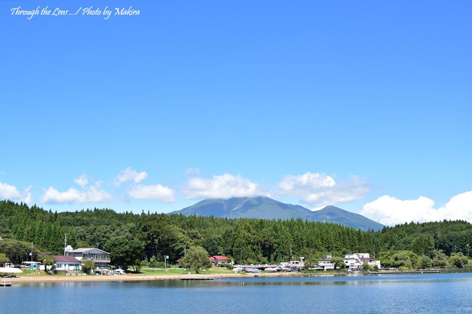 猪苗代湖と会津磐梯山56D2
