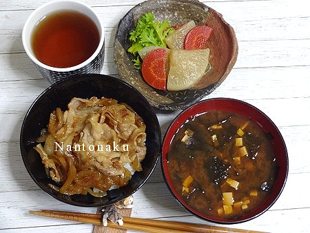NANTONAKU 01-27 小茶碗で生姜丼 1