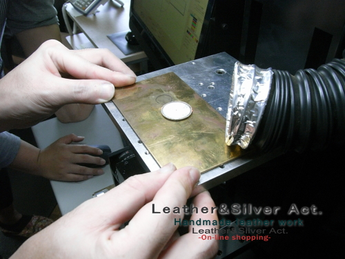 彫金 レーザー彫刻 貴金属