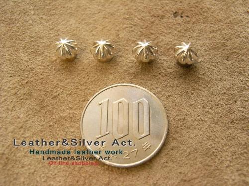 小さい アポロコンチョ シルバー