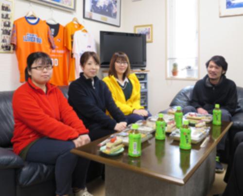 2月の昼食会