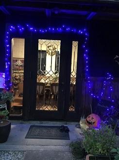 ハロウィーン玄関