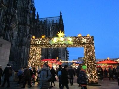 ケルンクリスマスマーケット1