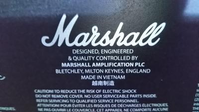 マーシャルCODE25F