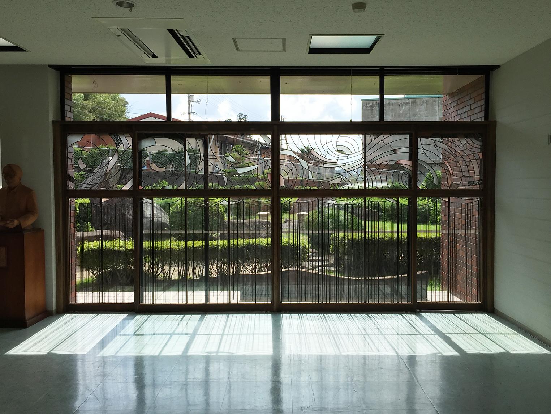 三良坂平和美術館エントランス