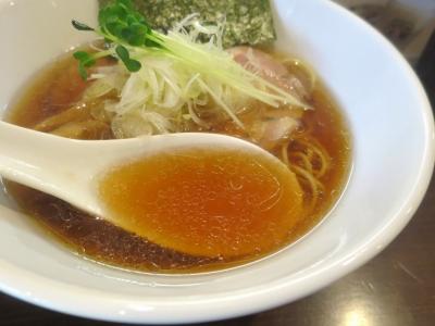 むつ葉スープ