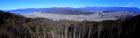 諏訪盆地・大パノラマ