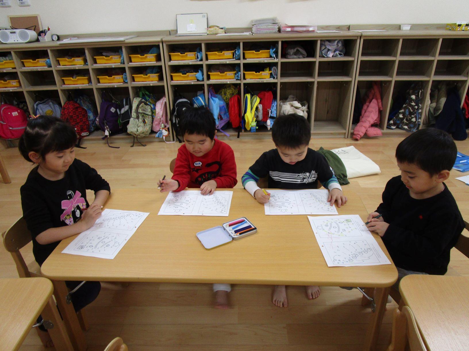 英語教室がありました!