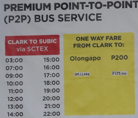 timetable olongapo from sm clark (1)
