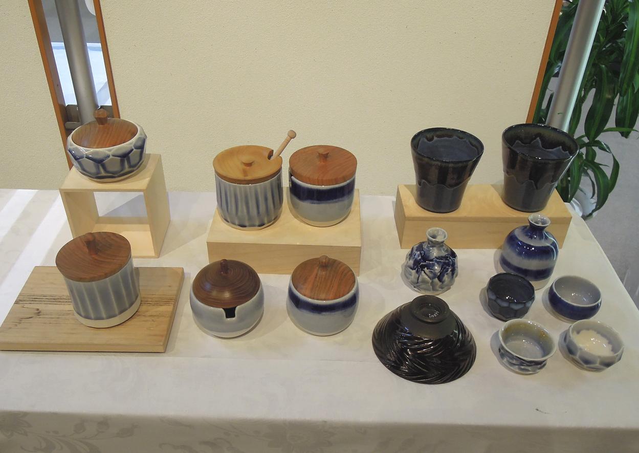 陶芸とコラボ