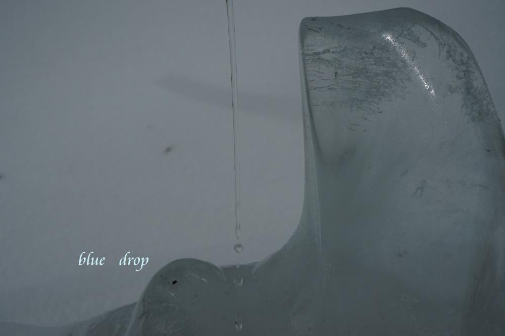 氷の芸術作品*