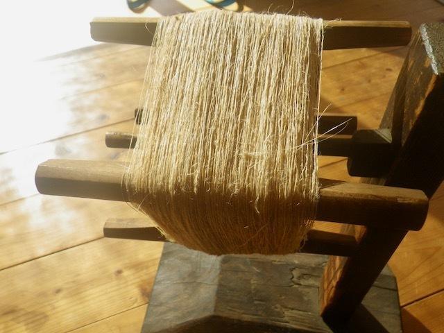 壬生麻・織り枠