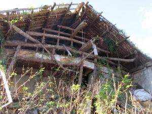 廃墟になった家屋1