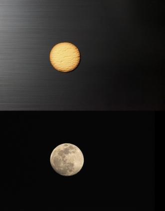 美味しい月