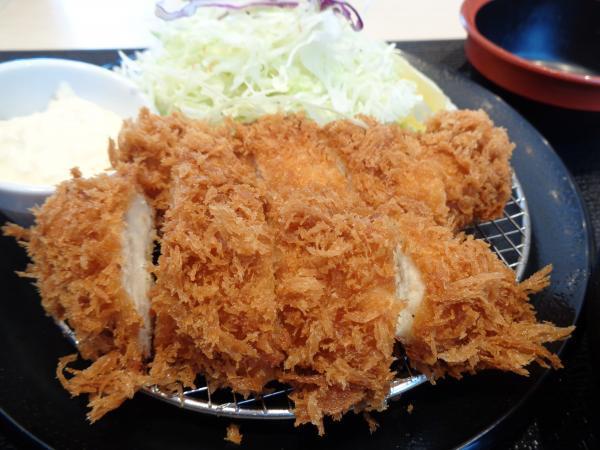 11/4 松乃屋・ささみカツ定食
