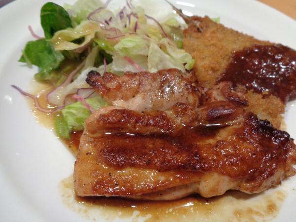 11/8 ガスト・鶏肉ステーキ&アジフライ