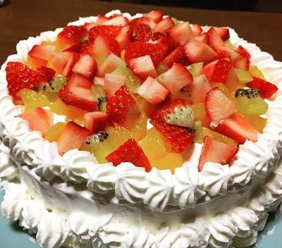 20170101誕生日ケーキ
